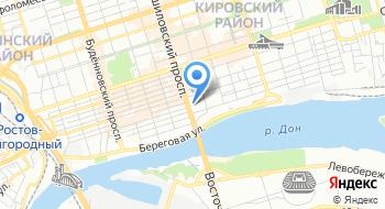 ГКУ РО Архив документов по личному составу Ростовской области на карте