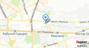 Отдел военного комиссариата Ростовской области по Октябрьскому и Ворошиловскому районам на карте