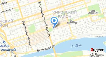Центральный банк Российской Федерации на карте