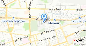 Донская эксперементальная верфь Скиф на карте