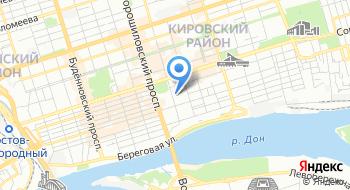 Государственное унитарное предприятие Ростовской области Фармацевтический центр на карте
