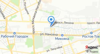 Ростовская топливная энергетическая компания на карте