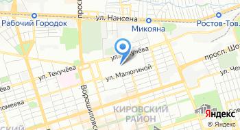 Ростовский ипподром на карте