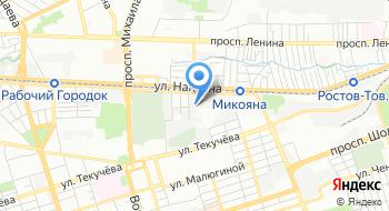 Ростовский машиностроительный завод на карте