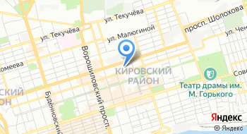 Кран Ростов на карте