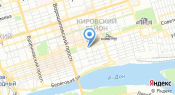 Государственное автономное профессиональное образовательное учреждение Ростовской области Ростовский колледж рекламы, сервиса и туризма Сократ на карте
