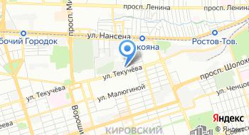 Ростовское предприятие магистральных электрических сетей на карте