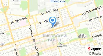 Ростовская автомобильная и газово-сервисная компания на карте
