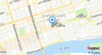 Боуз-Ростов на карте