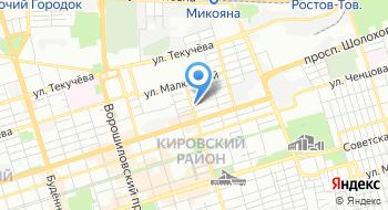 ГБУ РО Ростовская городская станция по борьбе с болезнями животных на карте