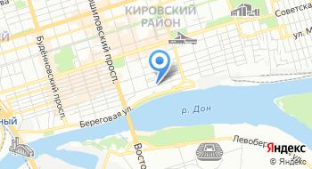 Служба капитана морского порта Ростов-на-Дону Ростовский филиал на карте