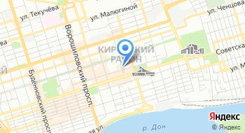 Городской Кировский отдел ЗАГС Администрации города Ростов-на-Дону на карте