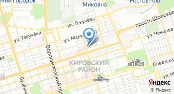 МРИ №25 Территориальный участок 6163 по Кировскому району г. Ростова-на-Дону на карте