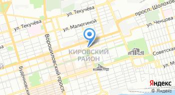 Следственный Изолятор № 1 Главного Управления Федеральной Службы Исполнения Наказаний по Ростовской области на карте
