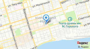 Ростовский государственный театр кукол имени В. С. Былкова на карте