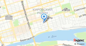 ГБУ РО ПТКД Противотуберкулезный клинический диспансер на карте