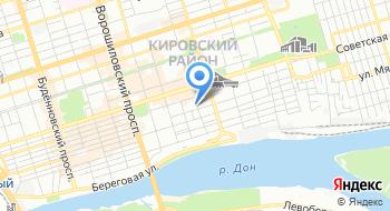 Нотариальная палата Ростовской области на карте