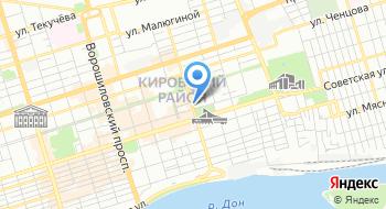 Агентство инвестиционного развития Ростовской области на карте