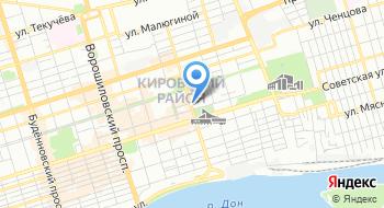 Торгово-промышленная палата Ростовской область на карте