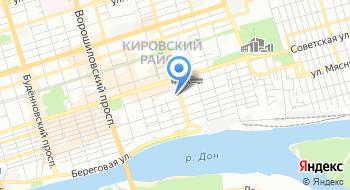 Газпром телеком Филиал в г. Ростове-на-Дону на карте