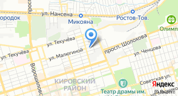 Единый информационно-расчетный центр на карте