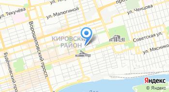 Партия Духовного Преображения России в Ростовской области, Региональное отделение Политической партии на карте