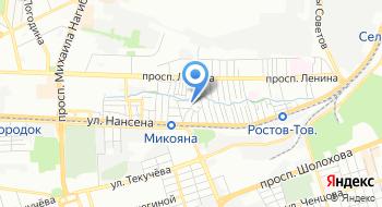 ТонирРостов на карте