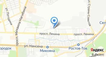 Ростовский Гидрометцентр на карте