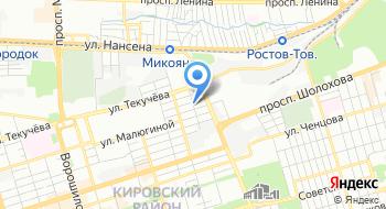 Ростовское областное отделение КПРФ на карте