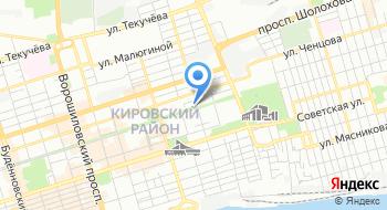 Мбуз Стоматологическая поликлиника города Ростова-на-Дону на карте