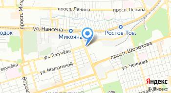 Ростовский завод технологического оборудования на карте