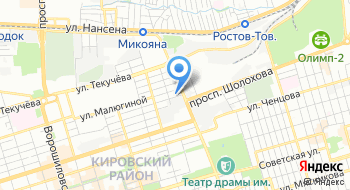 ЮгМонтаж на карте
