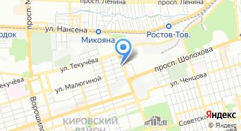 Ростовская производственная художественная мастерская на карте