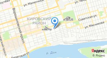 Азово-Донской профсоюзный комитет плавсоставов российского профессионального союза моряков Территориальная организация на карте