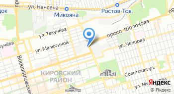 Государственная жилищная инспекция Ростовской области на карте