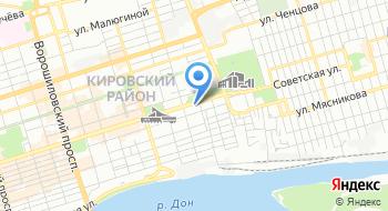 Ансамбль песни и пляски донских казаков на карте