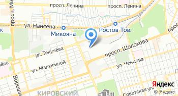 Донской Щебень на карте