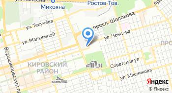 Ростов Водоканал на карте