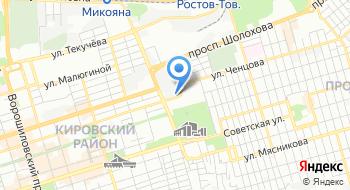 ГУП РО ИВЦ ЖКХ на карте