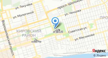 Аттракционы в парке Октябрьской Революции на карте