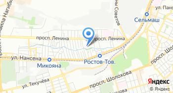 Фгбуз Юомц ФМБА России КБ № 1 на карте