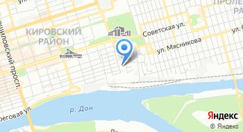 Уголовно-исполнительная Инспекция Главного Управления Федеральной Службы Исполнения Наказаний по Ростовской области на карте
