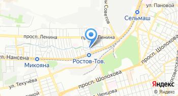 Центральная Церковь Евангельских Христиан-Баптистов города Ростов-на-Дону на карте