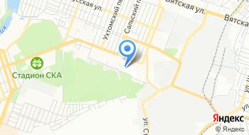 МБУЗ Детский санаторий Светлячок на карте