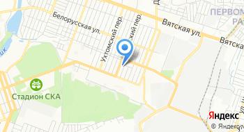 Ростов Купеческий на карте