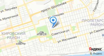 Южное следственное управление на транспорте Следственного комитета Российской Федерации на карте