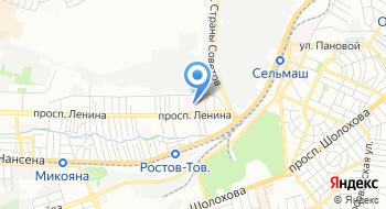 Госпиталь Фкуз МСЧ МВД России по Ростовской области на карте