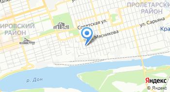 Ростовский-на-Дону колледж водного транспорта на карте