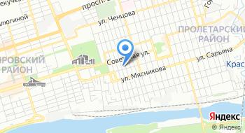 Оптовая компания Белнефтехим-Рос Филиал в г. Ростове-на-Дону на карте