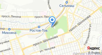 ФГАОУ Ростовская юношевская автомобильная школа на карте